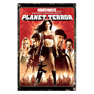 Planet Terror. Размер: 20 х 30 см